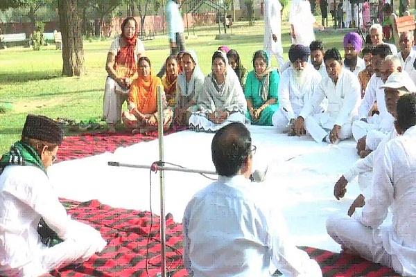 PunjabKesari, tribute, meeting, tau devi lal, organizing