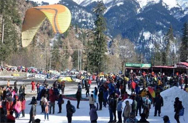 restrictions in punjab people celebrated new year in himachal