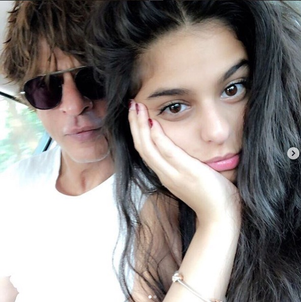 PunjabKesari,शाहरुख खान image, सुहाना खान image, जूलियट image,लंदन image, जीरो image,