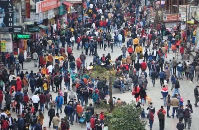 PunjabKesari, Restrictions in Punjab, people celebrated new year in Himachal
