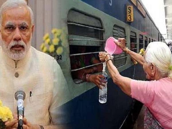 PunjabKesari, Madhya Pradesh News, Gwalior News, PM Narendra Modi, Mann Ki Baat, Gwalior Railway Station, 92 years old woman, free drinking water, inspirational women, BJP, Sarla Tripathi