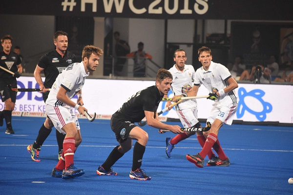 sports news, hockey news in hindi, field hockey, hockey world cup 2018, New Zealand, Beat, France 2-1, Bhubaneswar