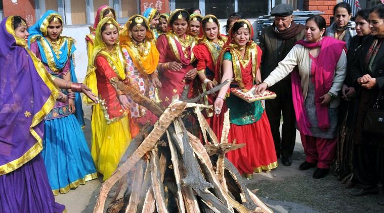 PunjabKesari, Lohri Image, Lohri Special Image, Nari Kesari Image