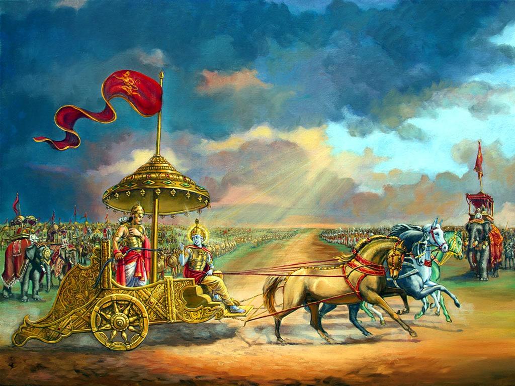 PunjabKesari, kundli tv, Mahabharata war image