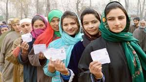 polling starts for 8 phase in jammu kashmir