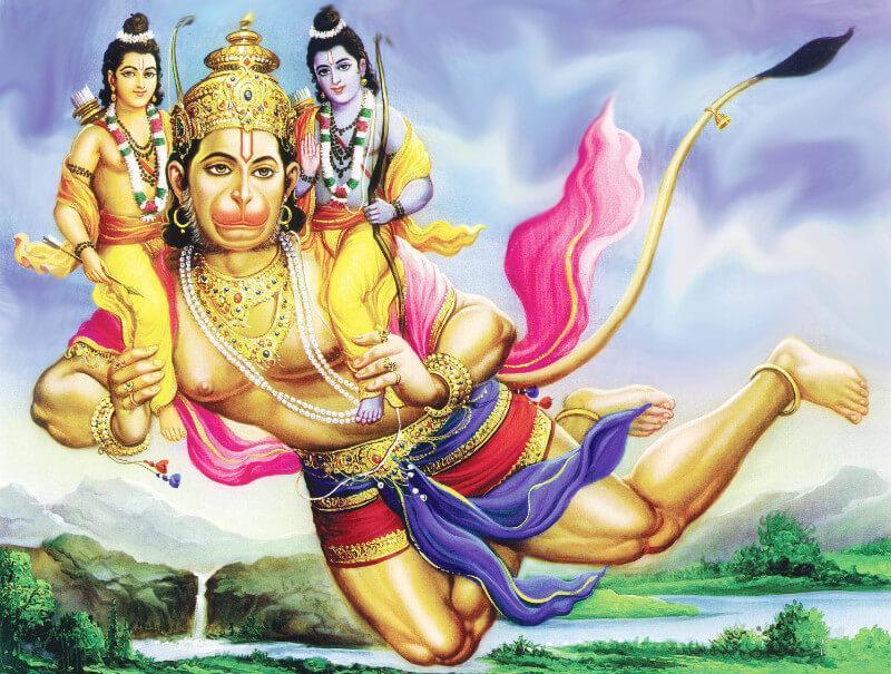 PunjabKesari, kundli tv, lord hanuman ram and lakshman image