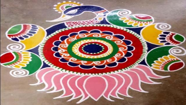 PunjabKesari,diwali rangoli design,Happy Diwali 2019, Happy Diwali Wishes,Diwali Special Rangoli,diwali rangoli images,दिवाली रंगोली फोटो,रंगोली फोटो, रंगोली इमेज, दिवाली रंगोली इमेज
