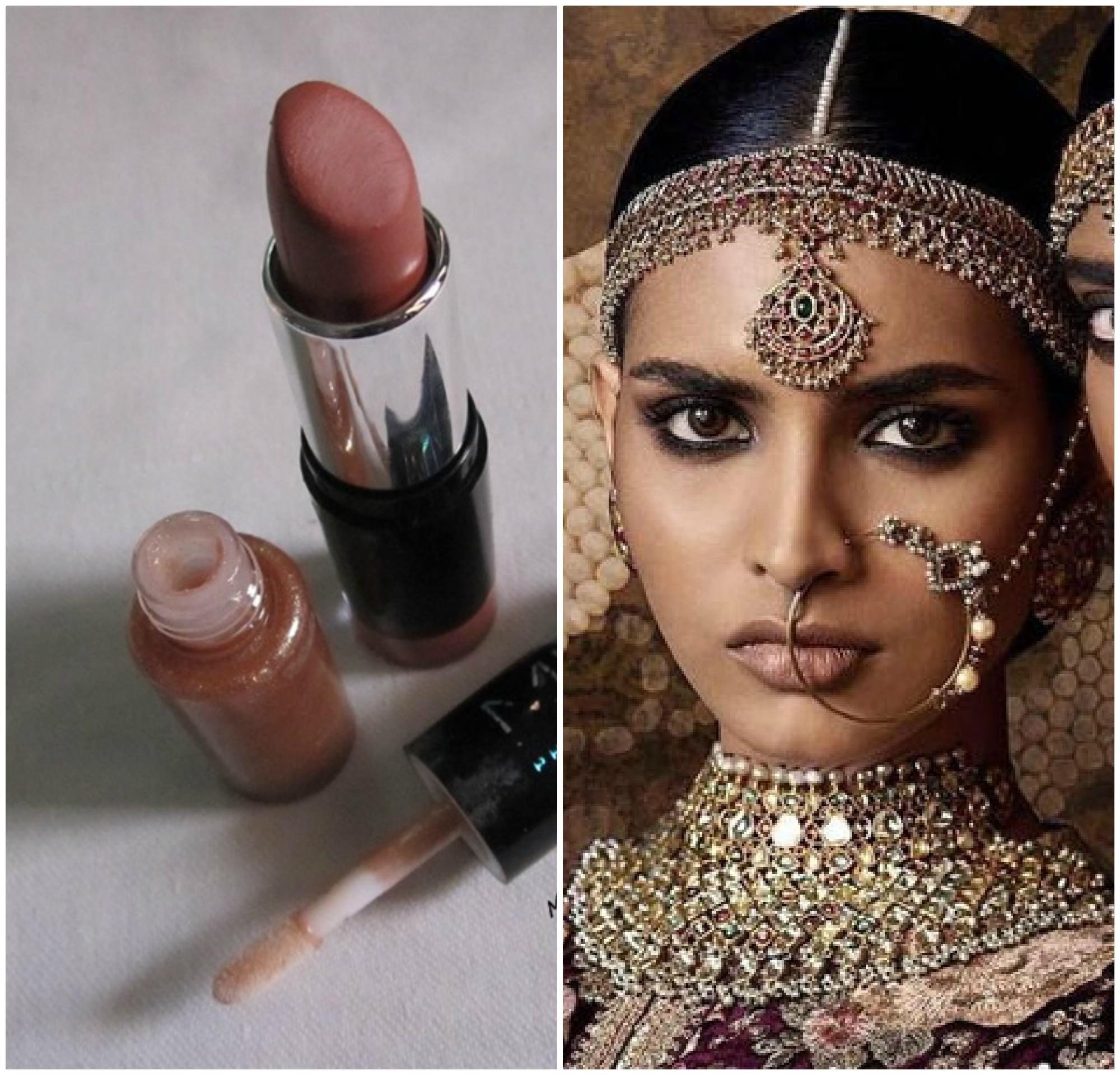 PunjabKesari, Nari, Exquisite bronze Lipstick Image