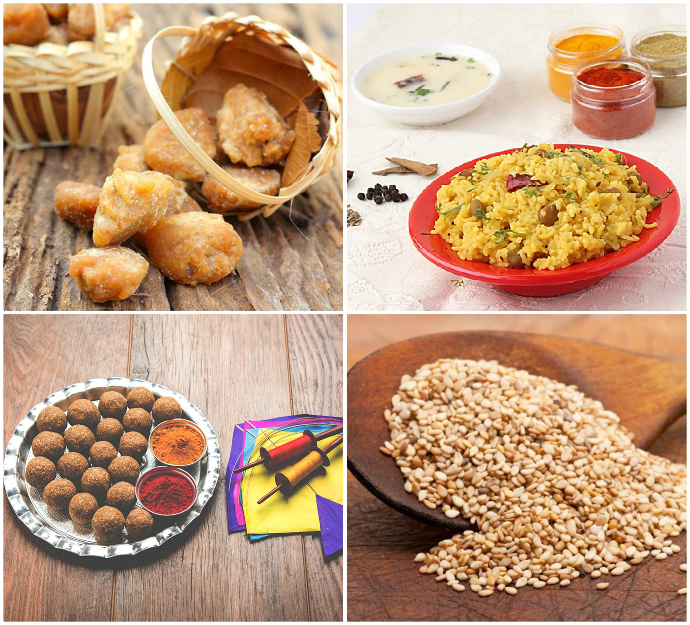 PunjabKesari, Makar Sankranti food Image, Healthy Life Image
