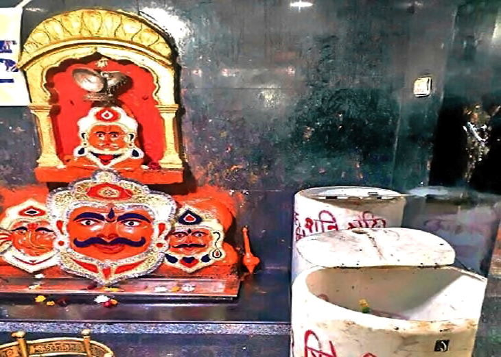PunjabKesari, Dharam, Shani Dev, Shani Temple, शनि देव, शिव शनि मंदिर, शिव शनि मंदिर होशंगाबाद, Dharmik Sthal, Religious Place in india, Hindu teerth Sthal