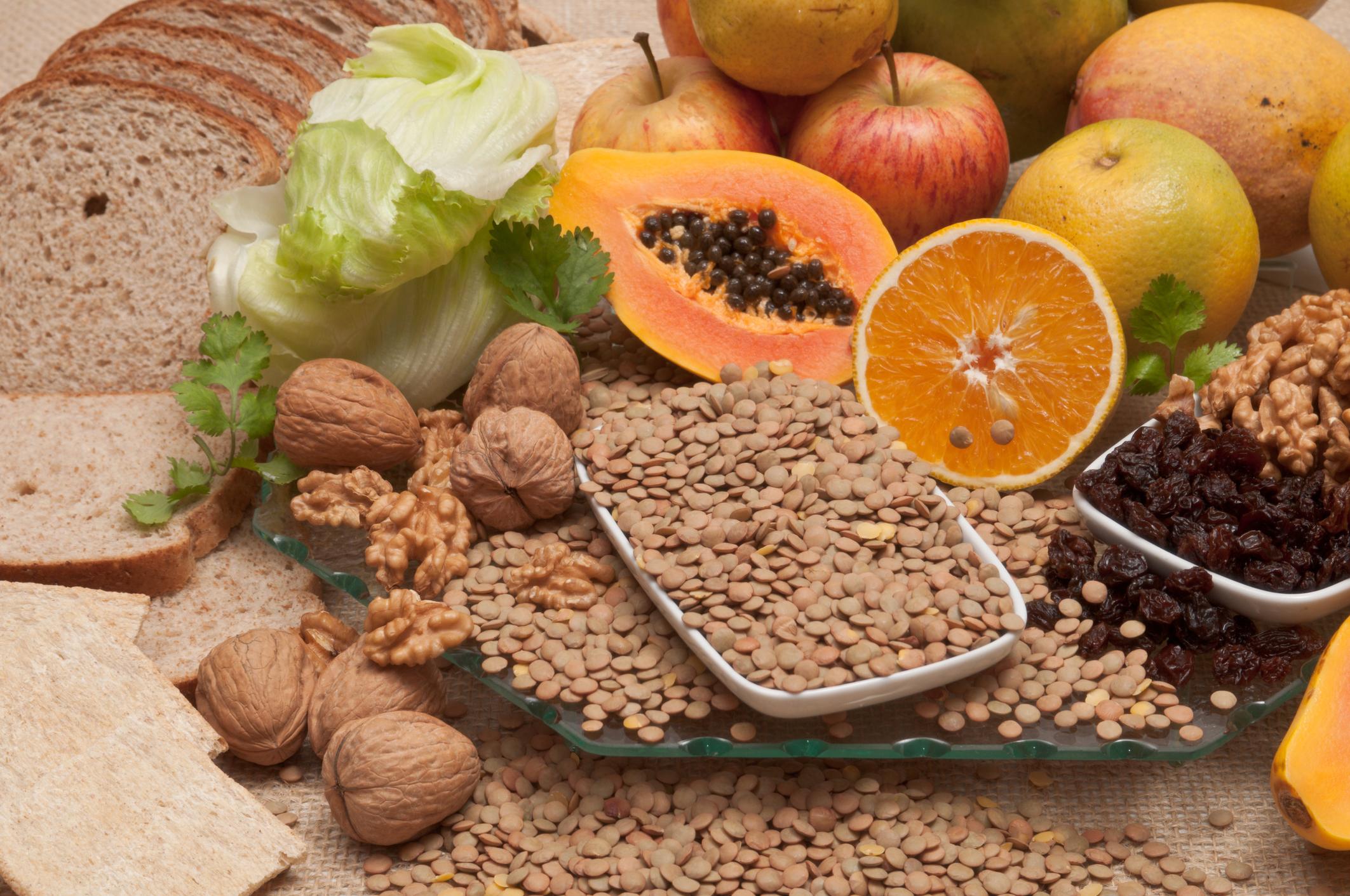 PunjabKesari, Fiber and Vitamin Diet Image