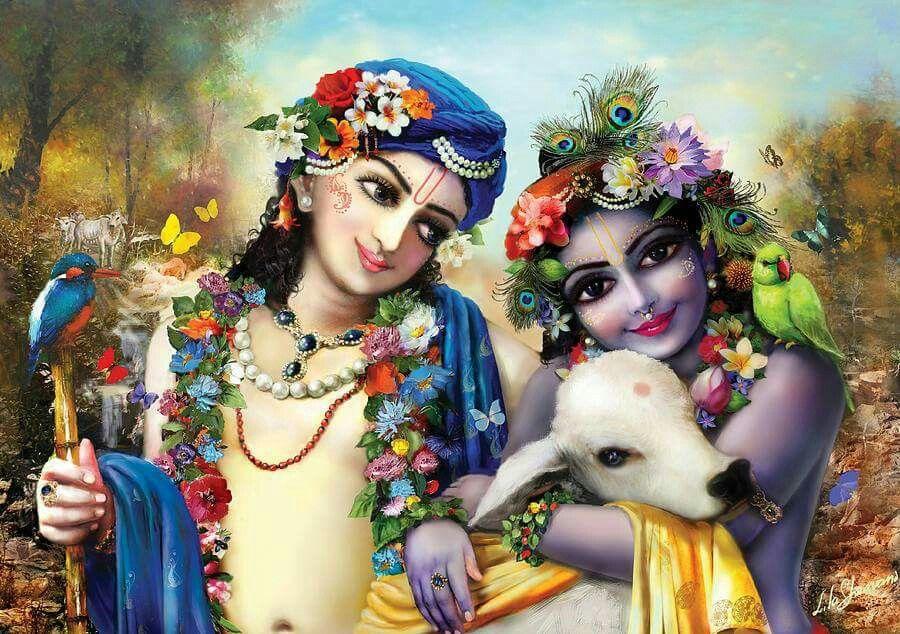 PunjabKesari, kundli tv, krishna and balram image