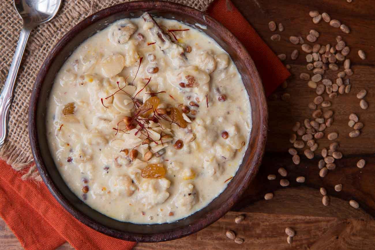 PunjabKesari, MahaShivratri Special Image, Makhana Kheer Recipe Image