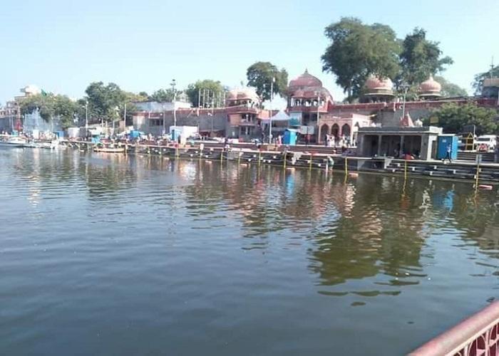 PunjabKesari, Madhya Pardesh Hindi News, ujjain Hindi News, Ujjain Hindi Samachar, Chipra river,Clean , Makaar sankranti