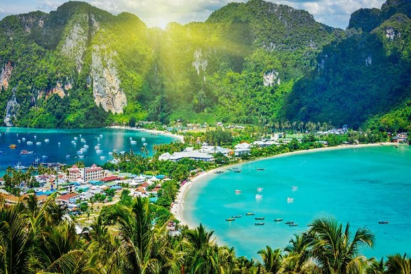 PunjabKesari, Phi Phi Islands, Honeymoon Destinations, Year 2019, Travel Hindi Tips
