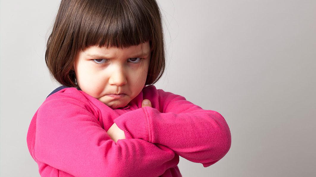 PunjabKesari, Angry Child