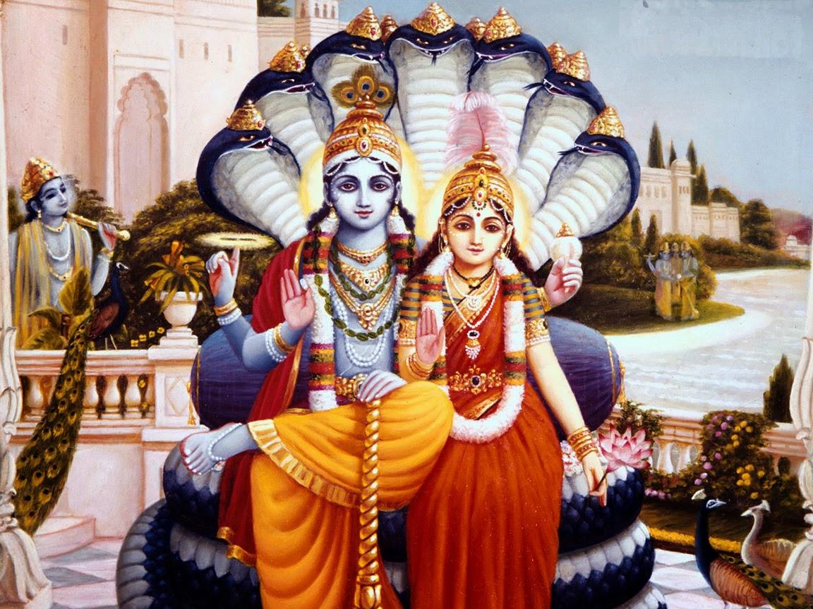 PunjabKesari, kundli tv, lord vishnu and mata lakshmi image