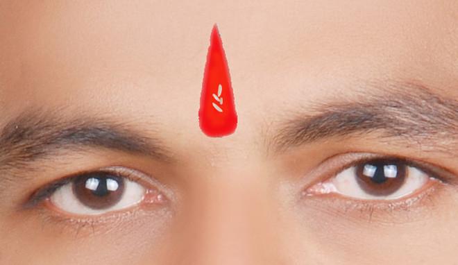 PunjabKesari, लाल तिलक, tilak