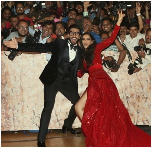 Bollywood Tadka,दीपिका पादुकोण image, रणवीर सिंह image,मुंबई image,रिसेप्शन पार्टी image, मीडिया image,