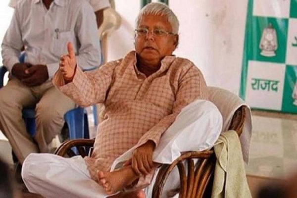 whether lalu stays in jail or out his electoral brand value is zero modi