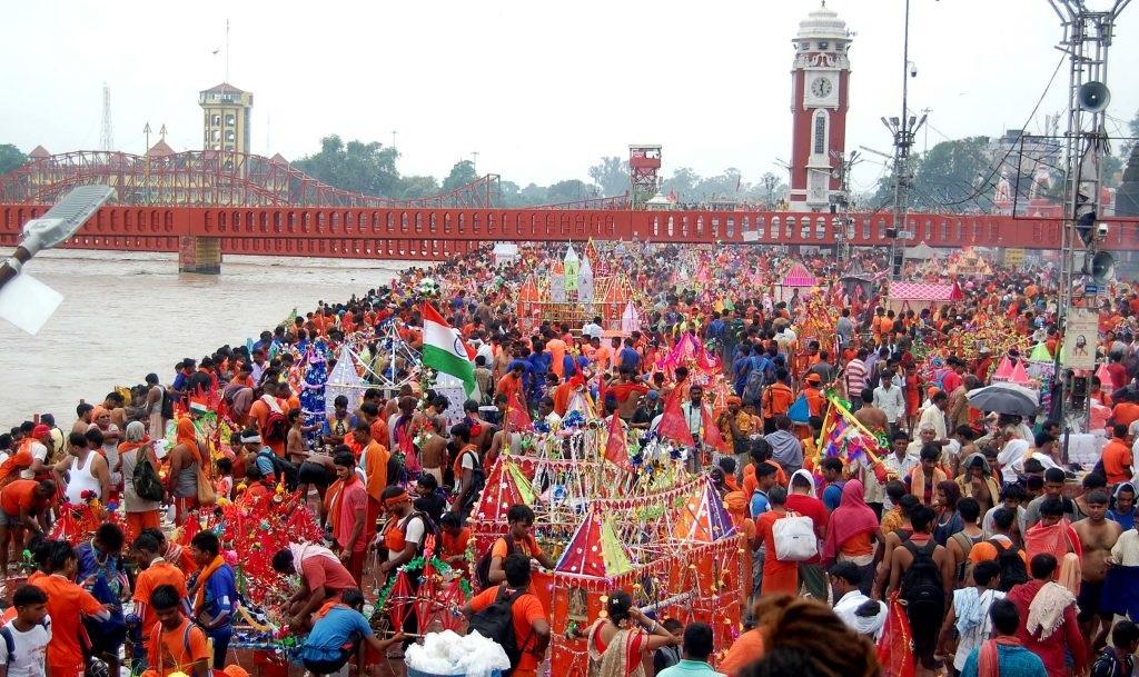 PunjabKesari, kundli tv, sawan, Kawad yatra