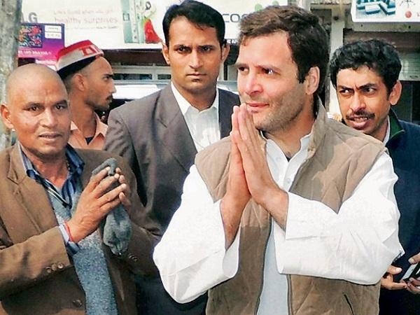 PunjabKesari, Madhya Pardesh Hindi News,Bhopal Hindi News, Bhopal Hindi Samachar, Amethi News, Rahul Gandhi, Kamalnath Poster, Smriti Irani