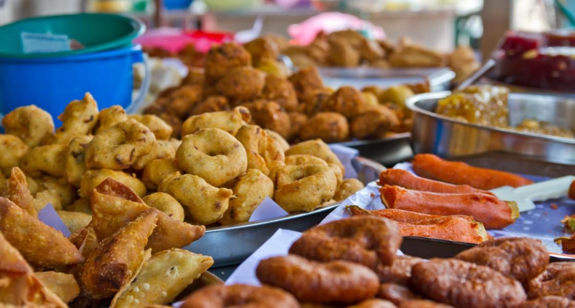 PunjabKesari, Mumbai Khau Galli Image, Famous Food Street Image