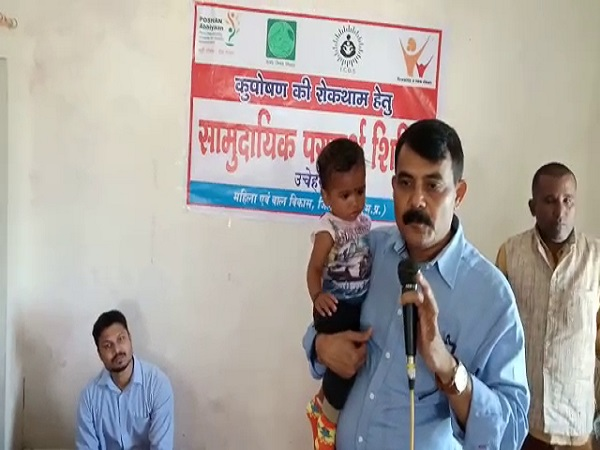 PunjabKesari, Madhya Pradesh News, Satna News, Mazhgawan Tehsil, Unchehra, Malnutrition Free, District Administration, Awareness Campaign,