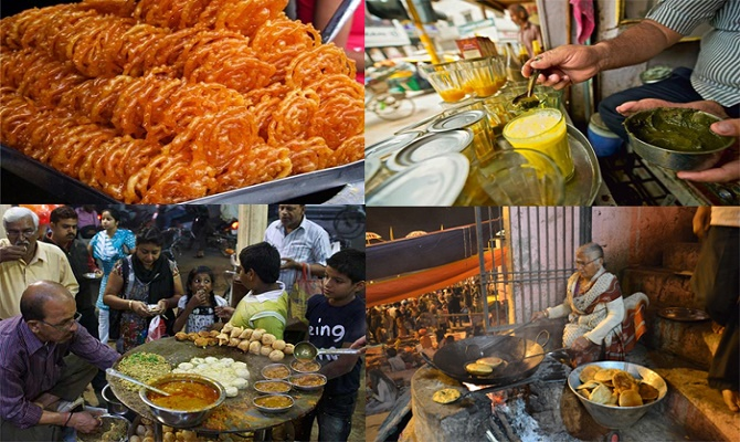 PunjabKesari, banaras kachori wali gali Image, Famous Food Street Image