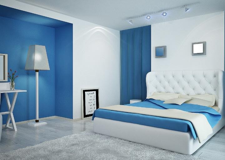PunjabKesari, Nari, Blue Wall Color Image