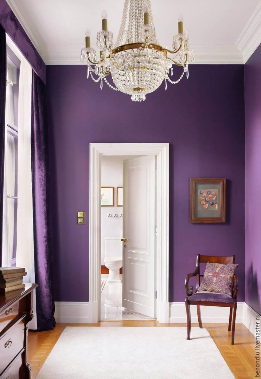 PunjabKesari, Nari, Purple Wall Color Image