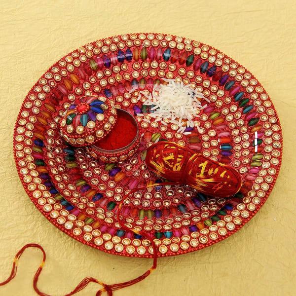 PunjabKesari, पूजा थाल, पूजा की थाली में चावल