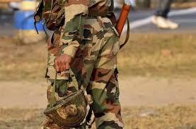 army jawan injured in accidental firing in kashmir