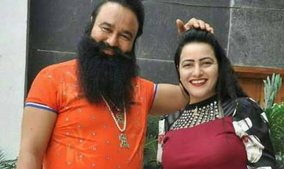 honeypreet and ram rahim s relatives figure 36 for the command of the camp