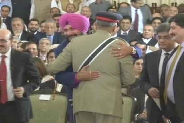 congres navjot singh sidhu pakistan imran khan masood khan