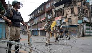 shutdown and internet ban in kashmir on polling day