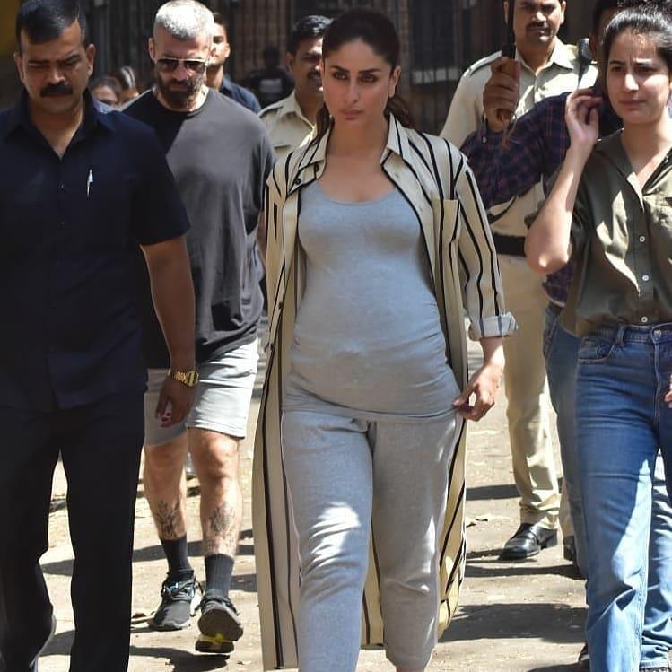PunjabKesari, Kareena baby Bump Image