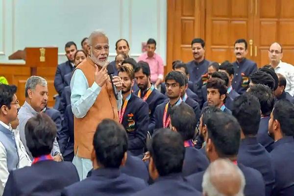 Sports, Modi, Para games winners