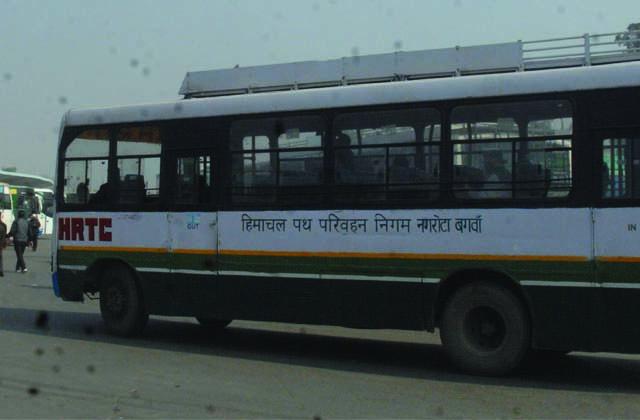 PunjabKesari, Himachal's buses reached Punjabn did not get passengers as expected