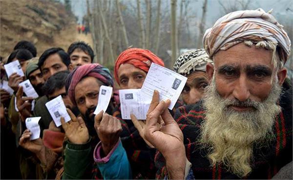 2 8 percent polling upto 10 am in anantnag kashmir