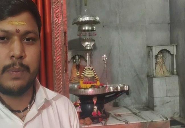 PunjabKesari, Shiv temple, Rhinestone Shivlinga, Sphatik Shivling, Sphatik Shivling in madhya pradesh temple, Dharmik Sthal, Religious Place in india, Hindu Tirth Sthal, हिन्दू धार्मिक स्थल, भारत के प्रसिद्ध मंदिर