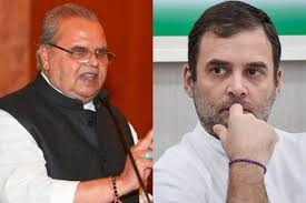 rahul want to create tension in kashmir said malik
