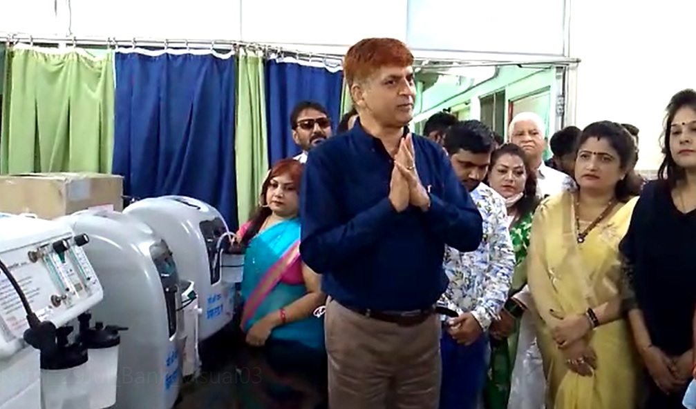 PunjabKesari, Katni, Oxygen Bank, Vivek Tankha, Jasuja Hospital, Madhya Pradesh,
