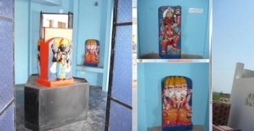 PunjabKesari, Shani Dev, Shani Dev Temple, Shani Temple at uttar pradesh, Bhrasht Tantra Vinashak Shani Temple, भ्रष्ट तंत्र विनाशक शनि मंदिर