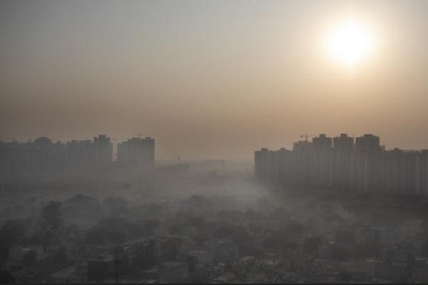 air polluted in delhi