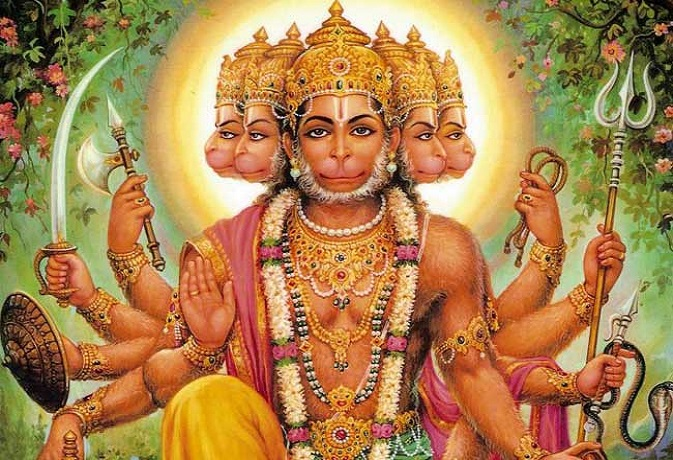 PunjabKesari, हनुमान जी, Lord Hanuman, Bajrangbali, Panchmukhi Hanuman