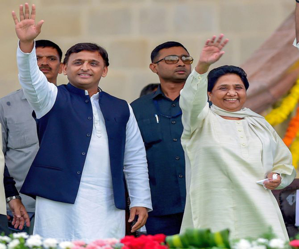 maya and akhilesh attack to congress candidate ramakant yadav