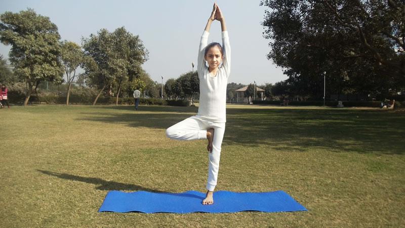 PunjabKesari,yogasanas, Healthy children,Nari