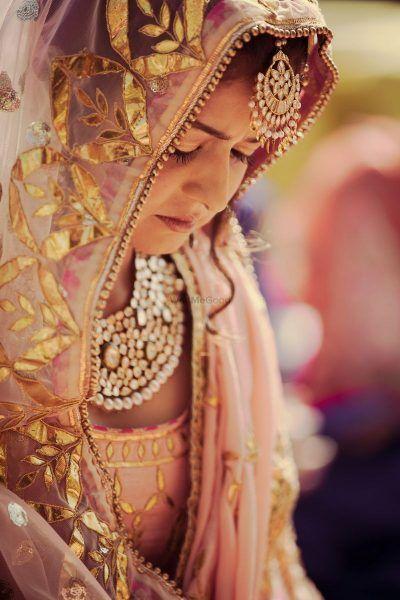 PunjabKesari, Nari, Gota Patti Work Dupatta Image, Bridal Fashion