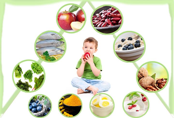PunjabKesari, Food for Sharp mind, Eat Children  Image